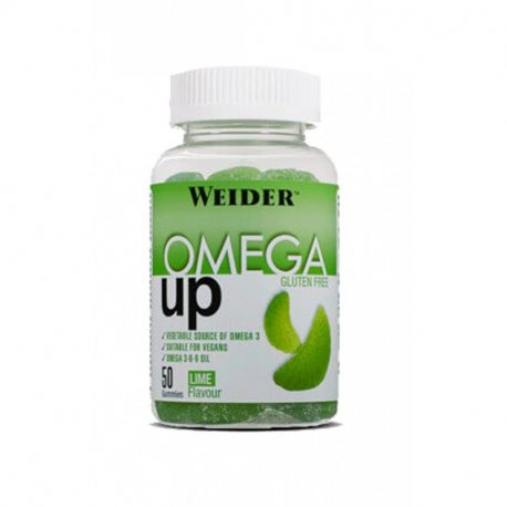 WEIDER OMEGA UP GUMMIES 50 UDS LIMA