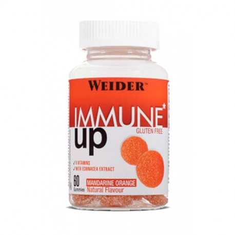 WEIDER INMUNE UP GUMMIES 60 UDS NARANJA