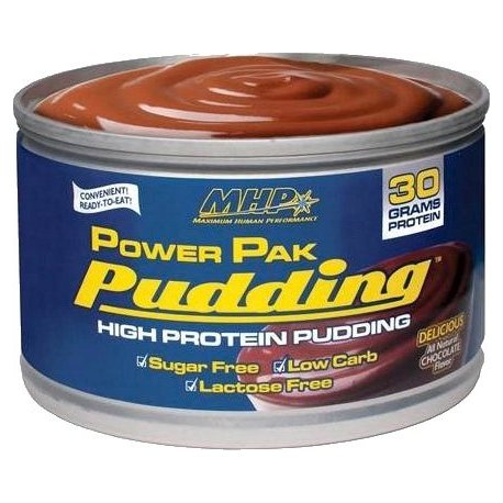 MHP POWERPACK PUDDING 6 UNIDADES