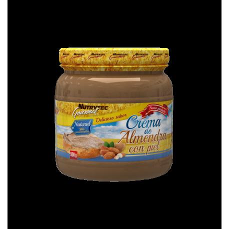 NUTRYTEC GOURMET CREMA DE ALMENDRAS 500 G.