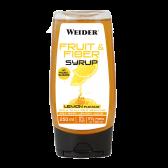 WEIDER FRUIT AND FIBER SYRUP LEMON