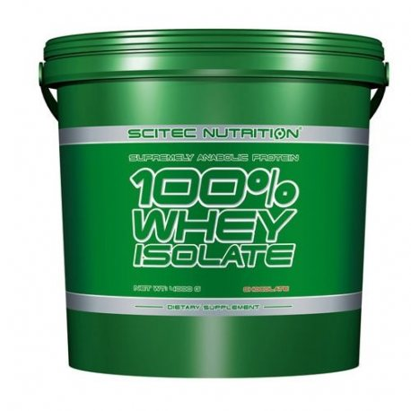 SCITEC NUTRITION WHEY 100% ISOLATE 4000G