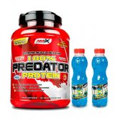 OFERTA PACK AMIX PREDATOR 1KG COOKIES Y 2 ISOLYN CARBO-MAX 500ML