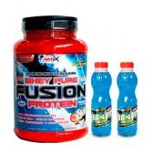 OFERTA PACK AMIX FUSION 1KG PLÁTANO Y 2 ISOLYN CARBO-MAX 500ML