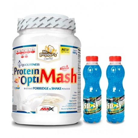 PACK AMIX OPTIMASH 2KG Y 2 ISOLYN CARBO-MAX DRINK