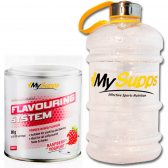 PACK MY SUPPS FLAVOURING SYSTEM 90G Y BOTELLA XXL 2,2L