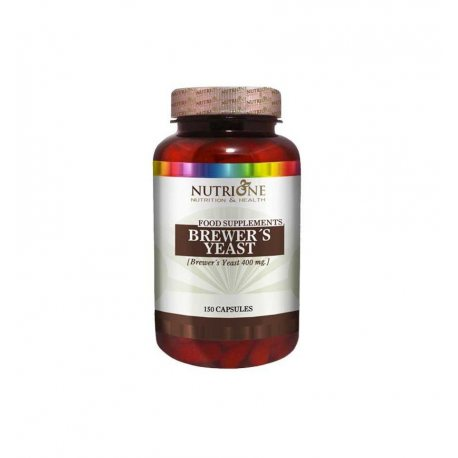 NUTRYTEC NUTRIONE LEVADURA DE CERVEZA 400 MG 150 CAPS