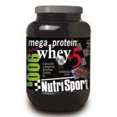 NUTRISPORT MEGA PROTEIN WHEY +5 900 G CAD: 10-17