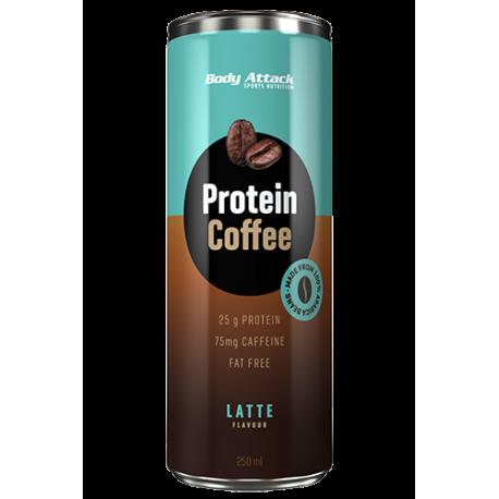 BODY ATTACK PROTEIN COFFEE 250 ML