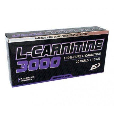 IRON SUPPLEMENTS L-CARNITINA 3000 20 VIALES