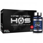 PACK H.O.S BLACK EDITION + ZINC 100 CAPSULAS
