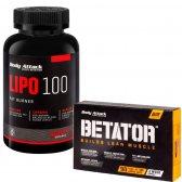 PACK BODY ATTACK LIPO 100 120 CAPS + BETATOR 90 CAPS