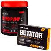 PACK BODY ATTACK NITRO PUMP 3.0 400G + BETATOR 90 CAPS
