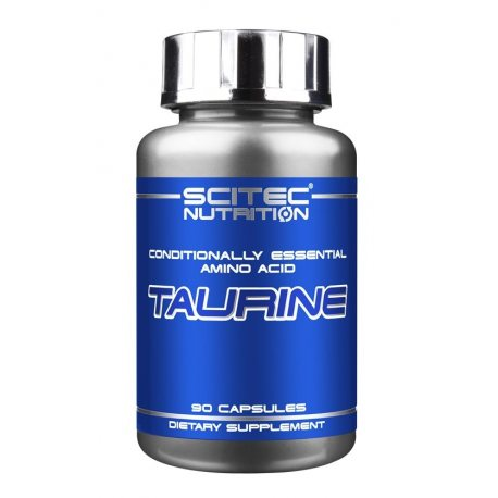 scitec-taurina-90-caps-aminoacidos TAURINA, qué, para qué y por qué.