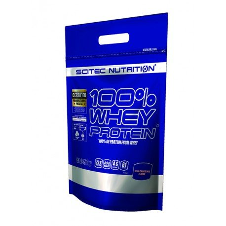 SCITEC NUTRITION 100% WHEY PROTEIN 1,8 KG