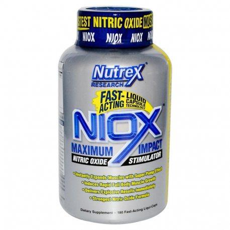NUTREX NIOX 180 LIQUID CAPS