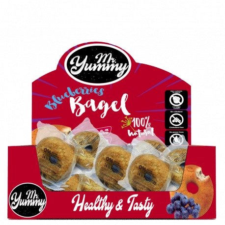 MR. YUMMY BLUEBERRIES BAGEL 60G