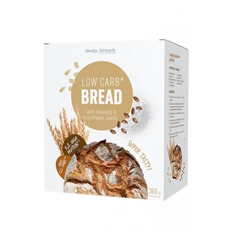 BODY ATTACK LOW CARB PROTEIN BREAD 360 G