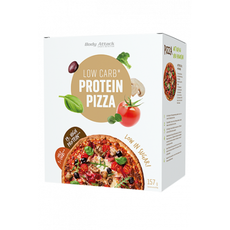 BODY ATTACK LOW CARB PROTEIN PIZZA 157 G.