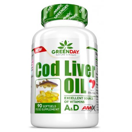 AMIX GREENDAY COD LIVER OIL 90caps