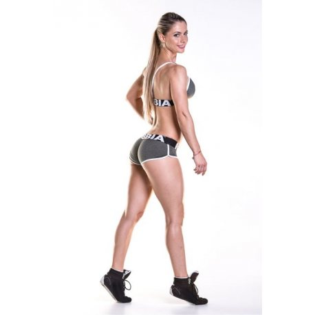 NEBBIA FITNESS SHORTS WITH HEM 266