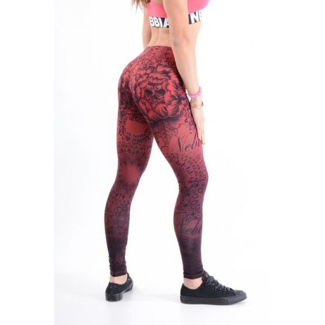 NEBBIA ART LEGGINGS BORDO 880