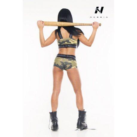 NEBBIA CAMO HOTPANTS 245