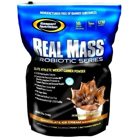 GASPARI NUTRITION REAL MASS PROBIOTIC SERIES 6LBS