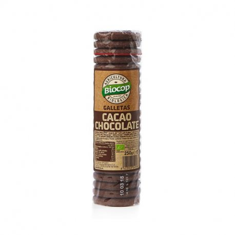GALLETA CACAO CHOCOLATE BIOCOP 250 G