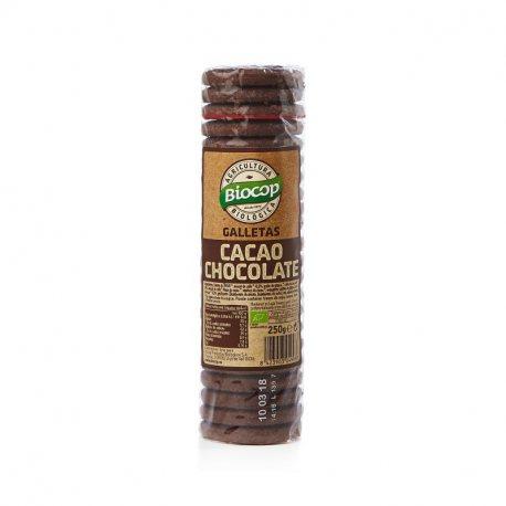 GALLETA CACAO CHOCOLATE BIOCOP 250 G