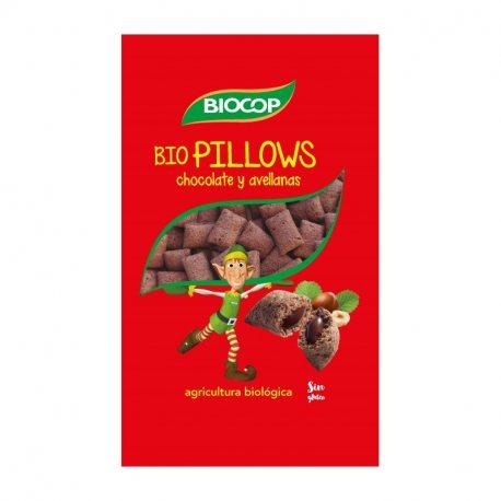 BIOPILLOWS CHOCO AVELLANAS BIOCOP 375 G