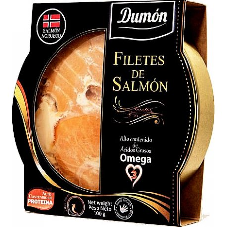 DUMON FILETES SALMON NATURAL 100GR