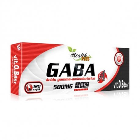 VIT.O.BEST GABA 500 MG 120 CAPS.