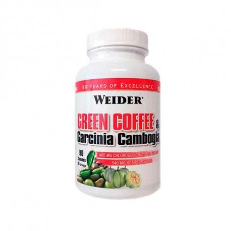 WEIDER GREEN COFFEE & GARCININA CAMBOGIA 90 CAPS