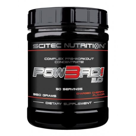 SCITEC NUTRITION POW3RD! 2.0 NEW