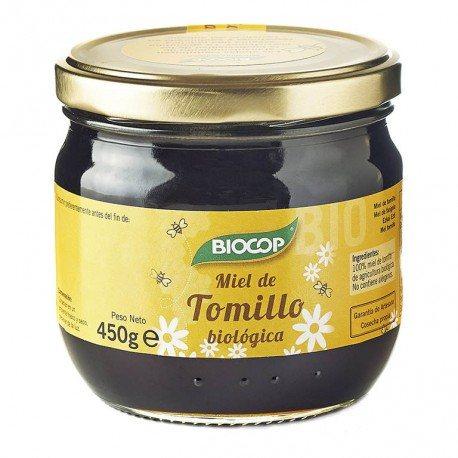 BIOCOP MIEL TOMILLO 450G