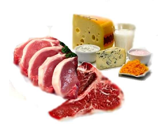 alimentos-con-proteinas ALGUNOS DATOS SOBRE LA PROTEÍNAS