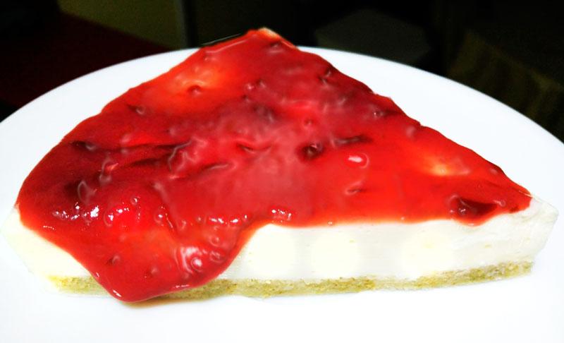 Tarta-dePiñayqueso Tarta de queso y piña