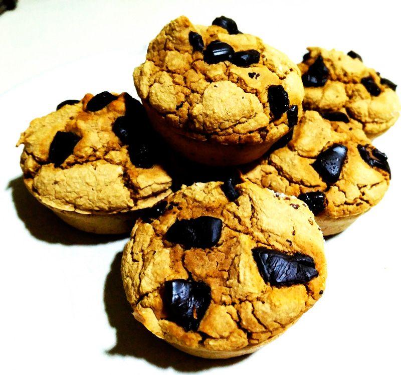 Muffins-veganas Muffins veganas