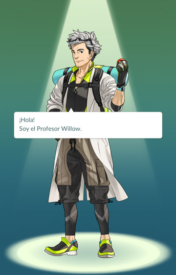 willow Beneficios de cazar pokémons en ayunas