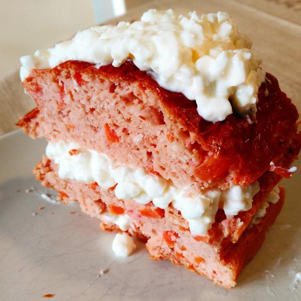 Carrot-Cake Fitcocho de zanahoria con queso cottage