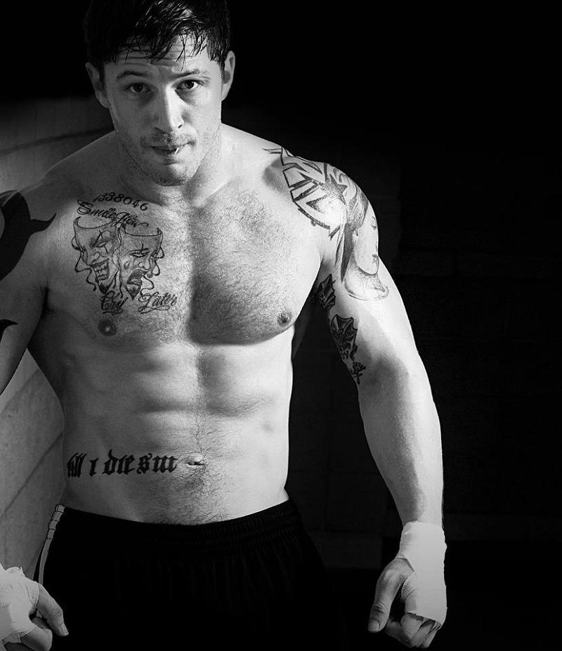 El workout de Tom Hardy