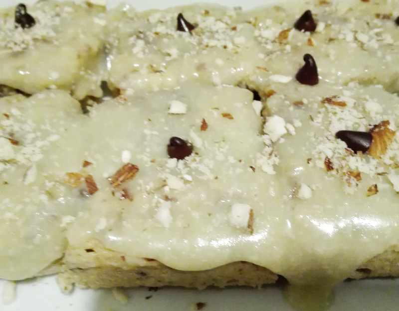 bronwidestacada Brownie fit White choco al microondas