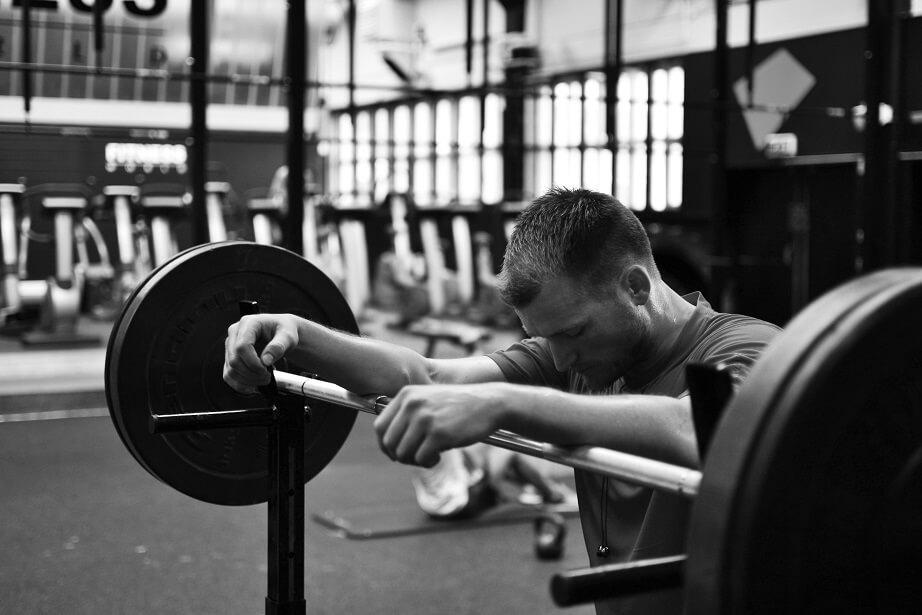Rutina de iniciación en el gimnasio