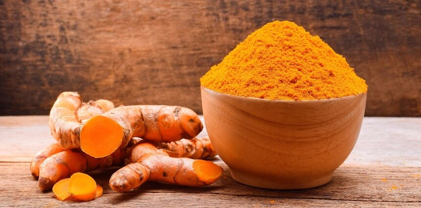 curcuma-molida Cúrcuma, potencia antioxidante