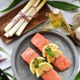 Los 5 beneficios del salmón.