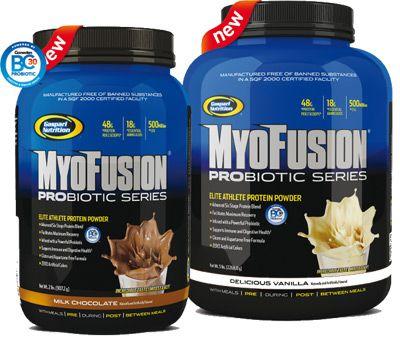 MyoFusion ProBiotic Series - TiendaCulturista - Gaspari Nutrition