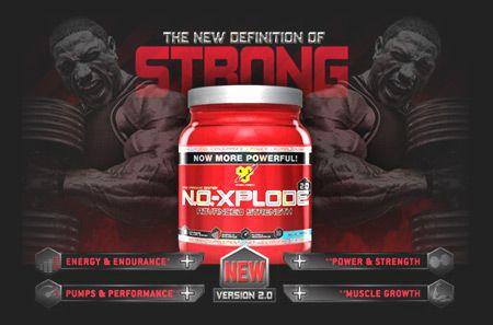 No Xplode Fuerza Máxima - La nueva definición de Strong