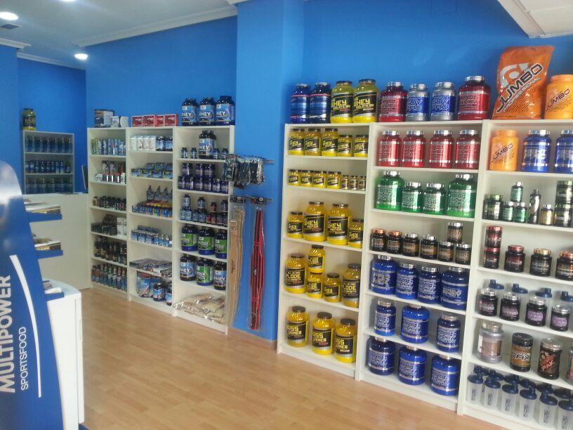Tienda nutricion deportiva JAEN