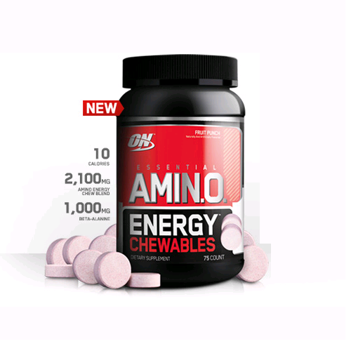 OPTIMUM NUTRITION AMINO ENERGY 75 TABS